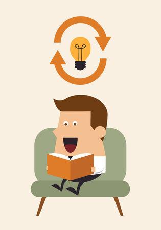 Refresh ideas, Business concept Vector