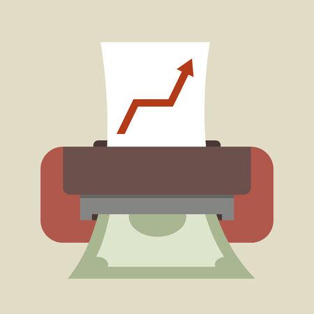 fotocopiadora: Máquina de impresión de dinero, Idea de negocio