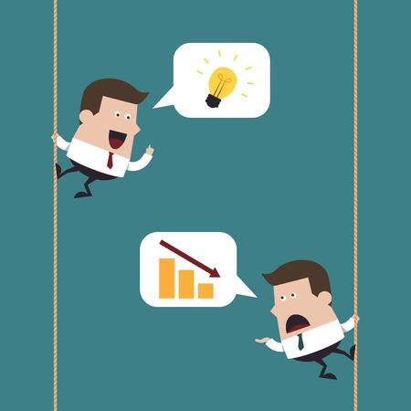 Businessmen talking, Business idea