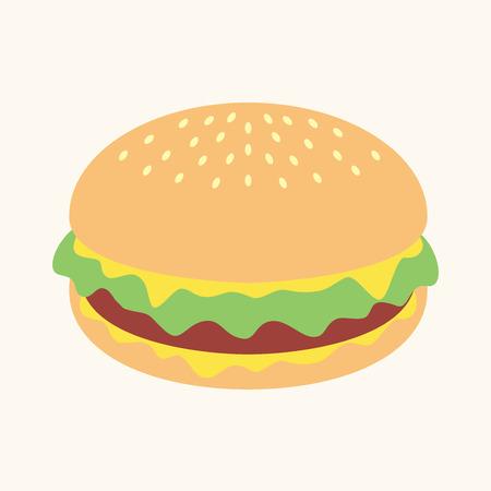 burger: Hamburger