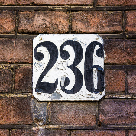 plackard: house number two hundred and thirty six.