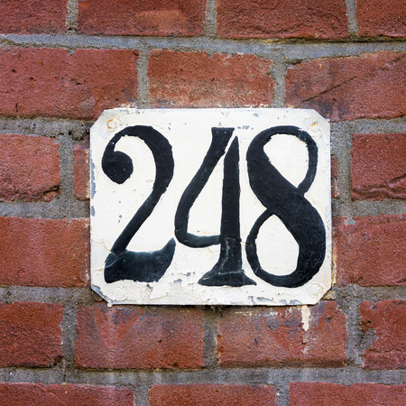 house number two hundred and forty eight.