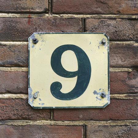 number nine: house number nine