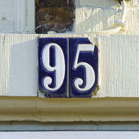 95: house number ninety five (95)