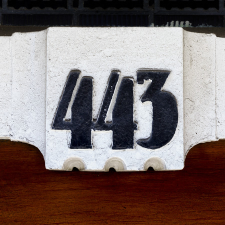 Ordinal: House number four hundred and three