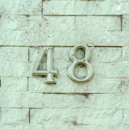 House number forty eight (48).