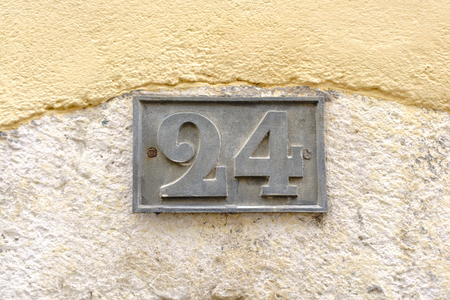 House number twenty Four (24).