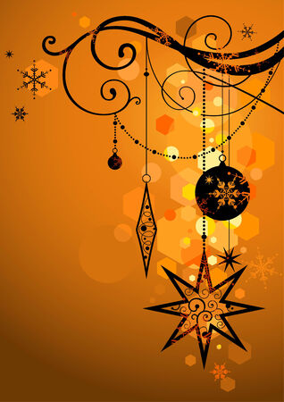 festal: Golden holiday background