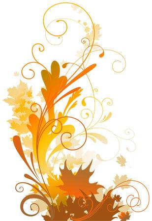 Autumn design Stock Vector - 5860476