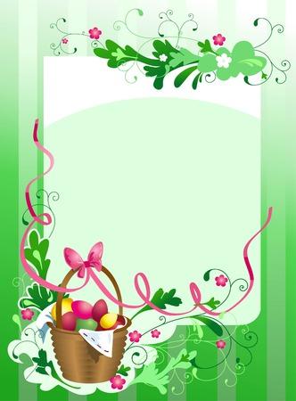 Het frame van Pasen