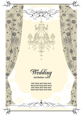 Wedding background Stock Vector - 9334060