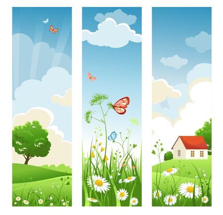 Summer banners Stock Vector - 9334046