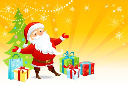 Merry Chistmas Stock Vector - 9580918