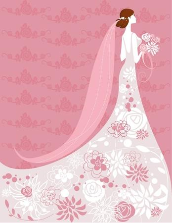 Braut  Vektorgrafik