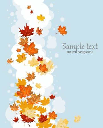 canada day: Autumn leaves