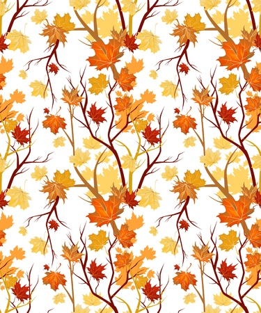 Autumn seamless Stock Vector - 10102010