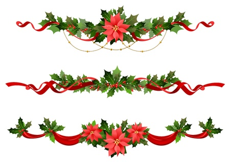 garlands: Christmas decoration
