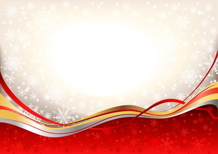 Christmas festive  background with space for text   Vector