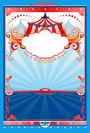Circus background with space for text Stock Vector - 20544544