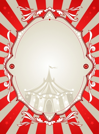 Vintage circus background  with space for text Stock Vector - 20544515