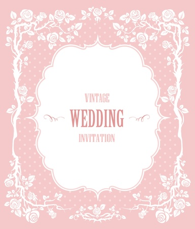 pastel: Elegant vintage background