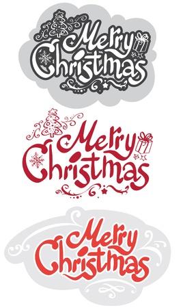 Merry Christmas design Stock Vector - 20598631