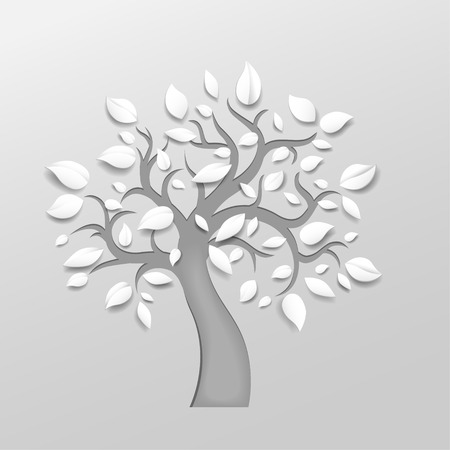 Abstract vector tree Vector