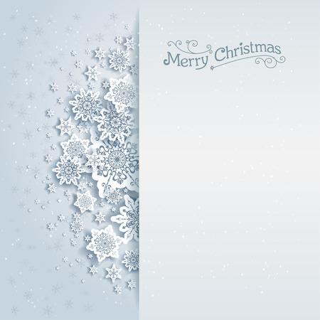 テキスト用のスペースとクリスマスのベクトルの背景