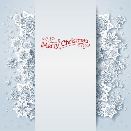 season greetings: Fond d'hiver de vacances avec espace pour le texte Illustration