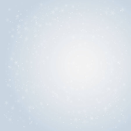 Winter vector background with copy space Illustration