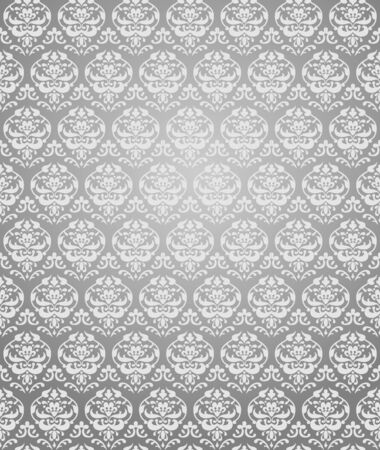 Grey seamless pattern  Vector