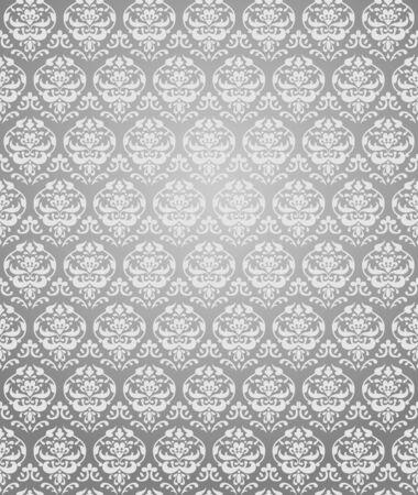 Grey seamless pattern  Illustration