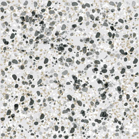 Stone pattern seamless background Vector