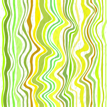 Abstract green stripes. Seamless vector background Vector