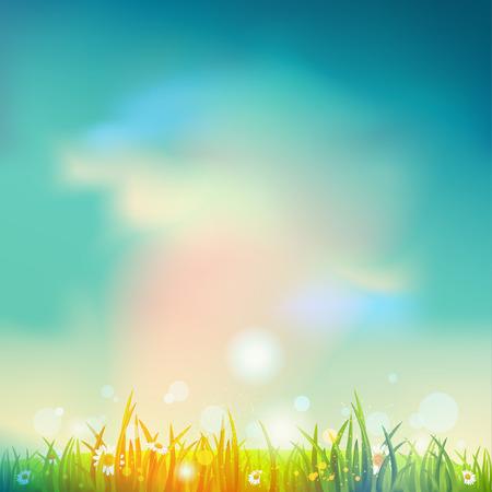 Summer time background Ilustração