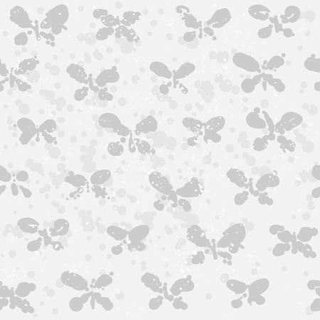backgroud: Abstract butterfly on spotted backgroud Illustration