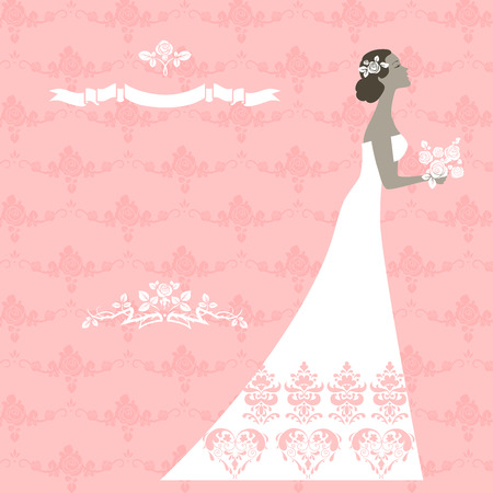 wedding reception decoration: Beautiful bride