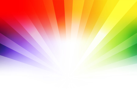 rainbow abstract: Colorful abstract background with place for text