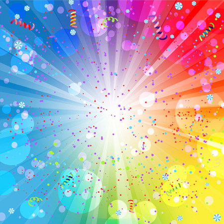 Festive colorful background with place for text Vector