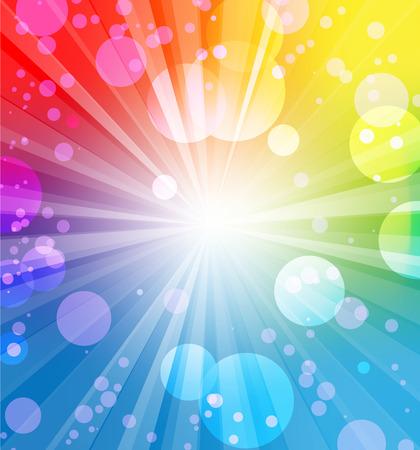 kutlamalar: Metin için yer Tatil renkli arka plan Çizim