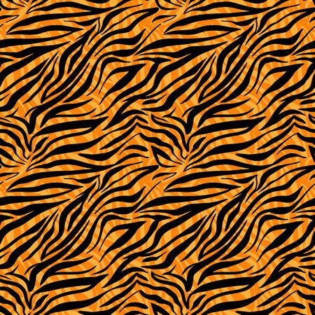 conceal: Fashion tiger seamless pattern. Animal background. Illustration