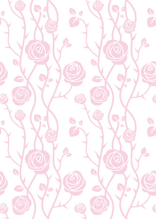 pastel color: Beautiful roses seamless pattern. Pink pastel color. Simple natural background