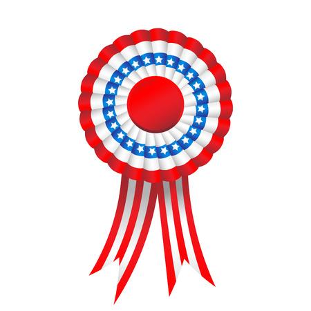 Holiday badge isolated on white background Illustration
