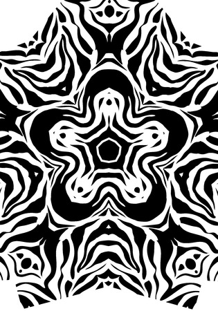 capricious: Abstract black and white abstract striped backgdrop