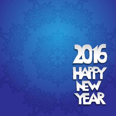salumi affettati: Holiday blue background Festive snowflake. Christmas design for card, banner, invitation, leaflet and so on.