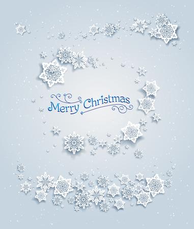 fiambres: elementos de invierno cubierto de nieve. el diseño de fiesta para la tarjeta, bandera, invitación, folleto y así sucesivamente.
