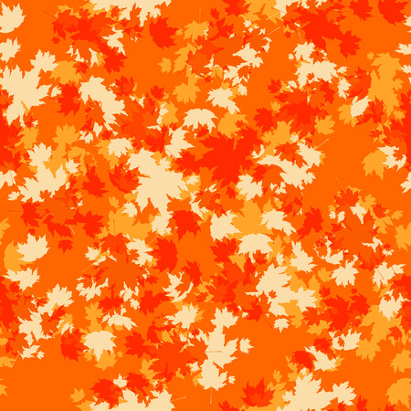 Autumn leaves card template for design banner,ticket, leaflet, card, poster and so on.