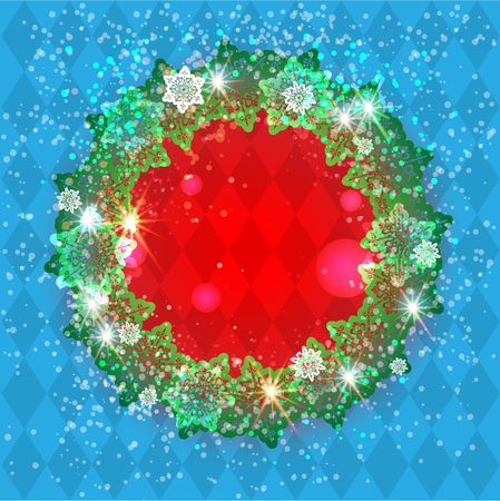 festive: Winter ornamental snowflakes background for holiday invitation or card. Holiday background for design banner, ticket, leaflet and so on.