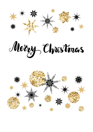 festive: Holiday Christmas background for banners, advertising, leaflet, cards, invitation and so on. Handwritten Christmas Inscription.