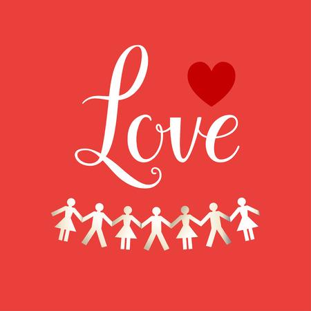 forme: Carte concept Love